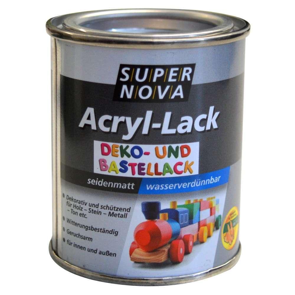 03387dcc8a Acryl Lack 125 ml silber   Sonderpreis Baumarkt