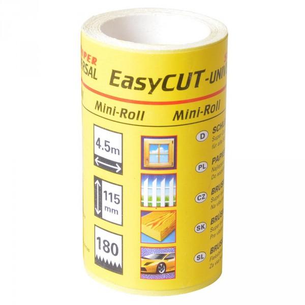 Schleifpapier K180 Trockenschleifpapier EasyCUT Mini-Rolle