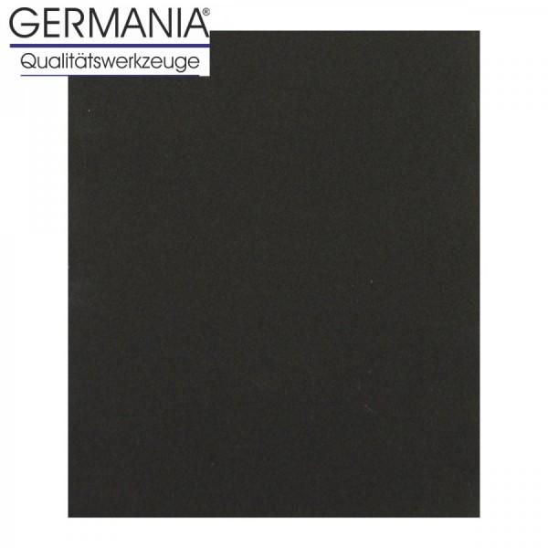 Schleifpapier K400 23x28cm schwarz Lacke Auto Nassschleifpapier Schleifpapierbogen