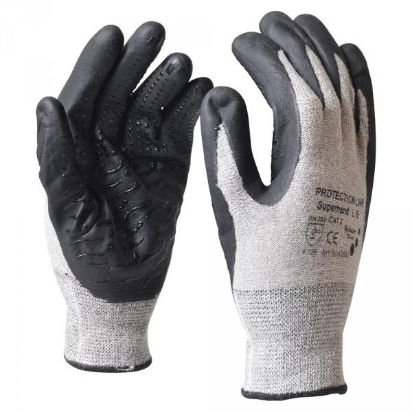 """Handschuhe Gr. XL 10"""" Nitril schwarz"""