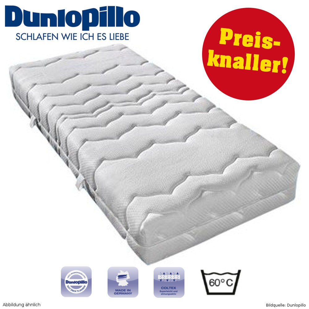 kaltschaum matratze otto xxl luxus 80x190cm 7 zonen h2 dunlopillo sonderpreis baumarkt. Black Bedroom Furniture Sets. Home Design Ideas