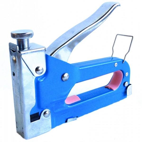 Handtacker 4-14mm mit 200 Klammern 6-8mm Hand Tacker Hefter Klammergerät