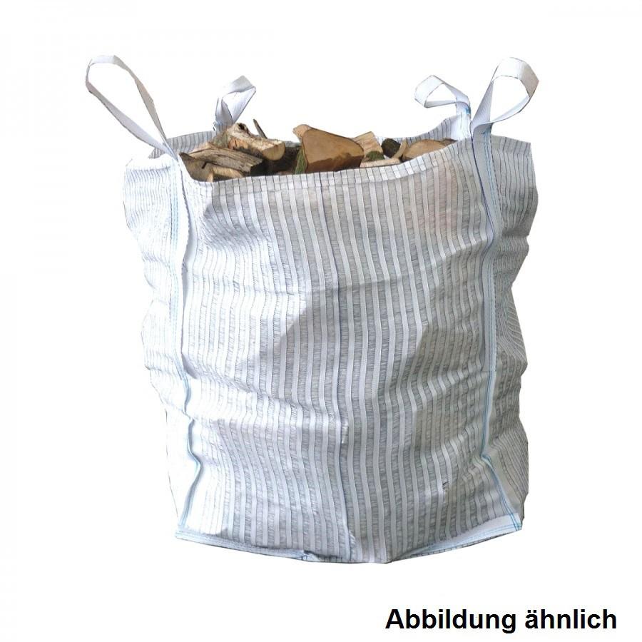 Big Bag Gartentasche 90x90x90cm 750kg weiß Gartensack Laubsack ...