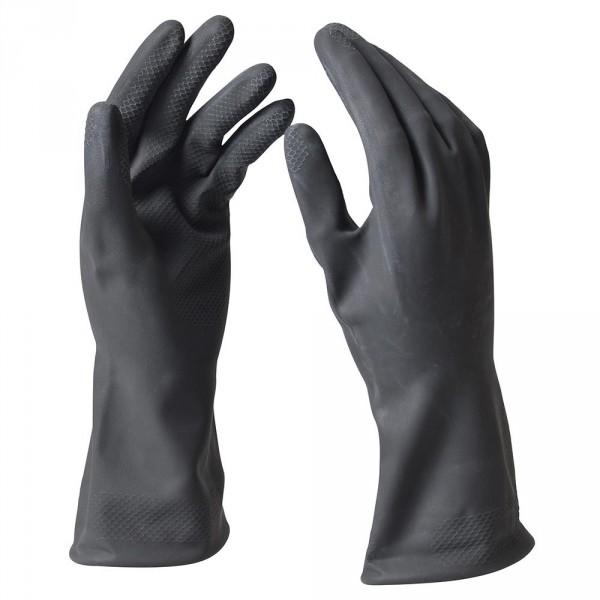 Handschuhe Gr. M Latex schwarz