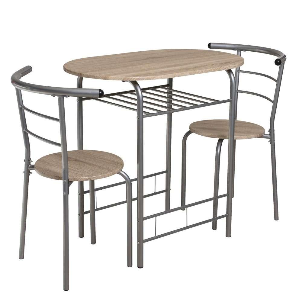 Stühlen Pulverbeschichtet Esstisch Ulm Mit 2 Sitzgruppe Stahlrohr Silber LzMVqSpGU