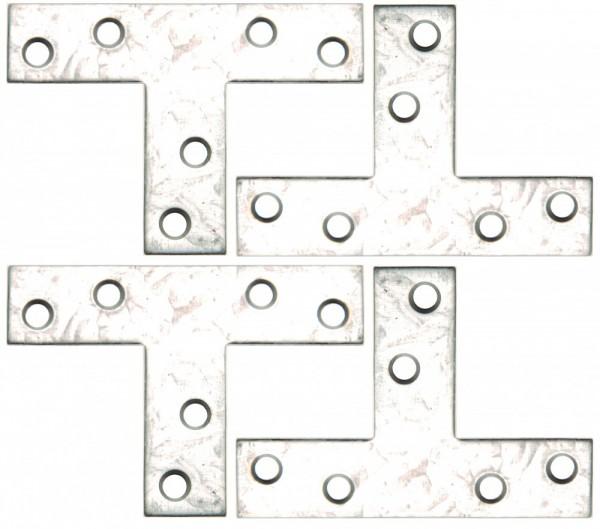 T-Winkel 70x50x16 mm 4er-Set